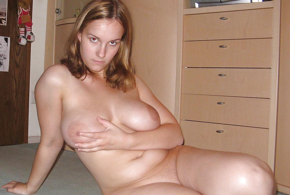 Amateur chubby mom solo