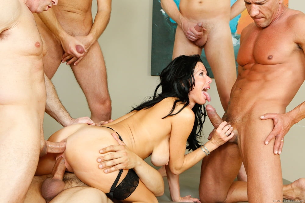 anal-bang-brunette-gang-photos