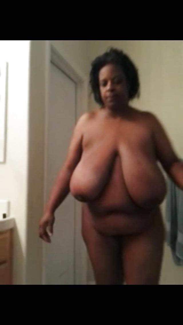Black Hanging Tits