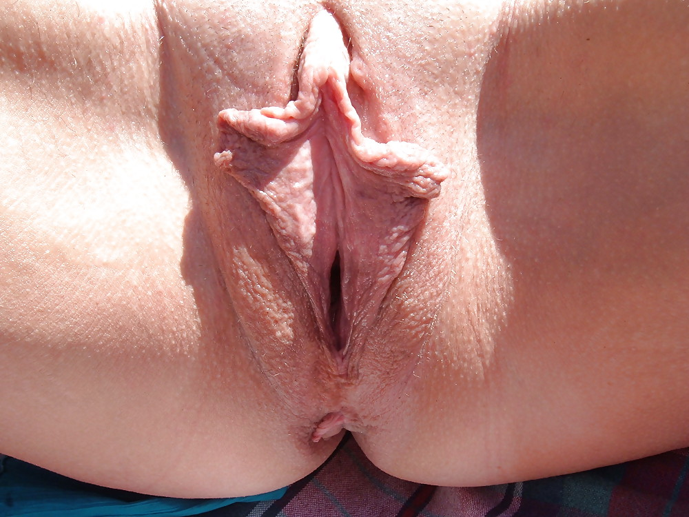 Pussy lips and butt wrinkles