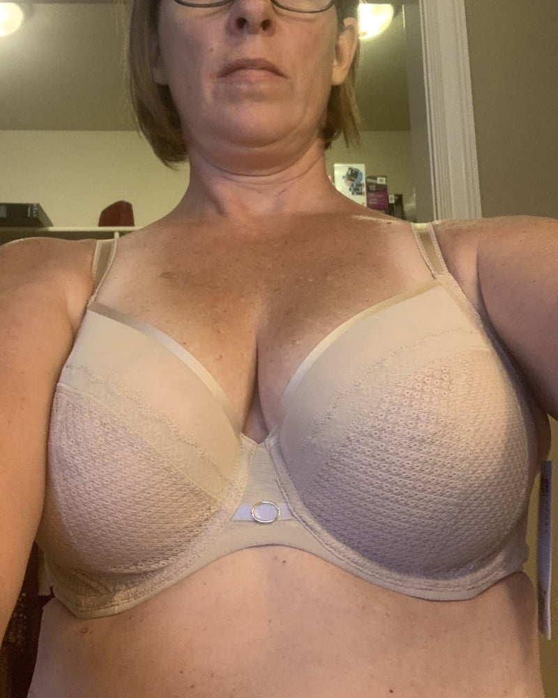 My wifes Tits went from 34D to 34 DD during COVID - 57 Pics