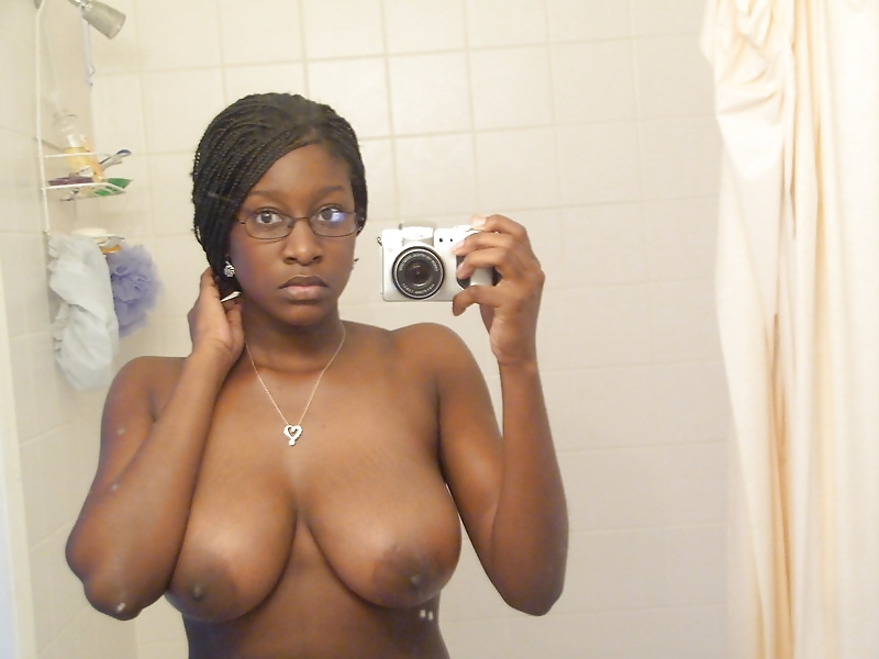 Huge Busty Ebony Blowjob
