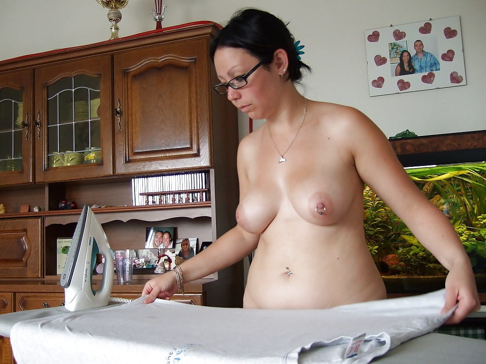 Doing Homework Naked On Webcam