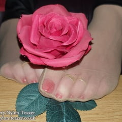 A Rose Between Two Feet