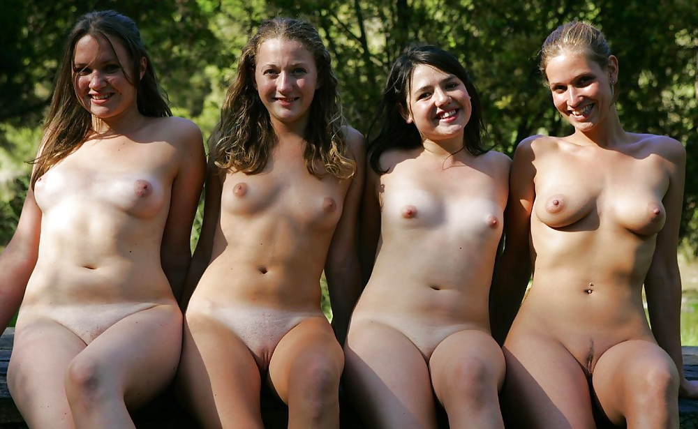Young girls non nude semi