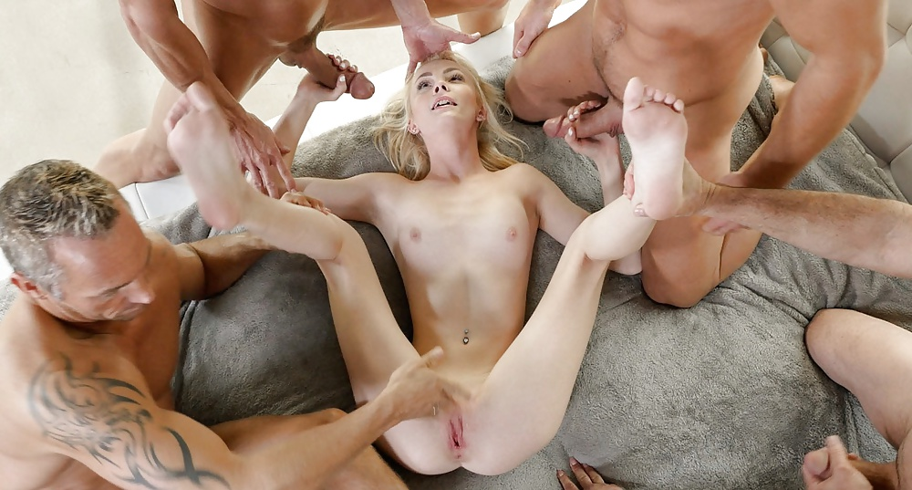 Gangbang The Hardcore Way Has Its Pounds Rewards 1
