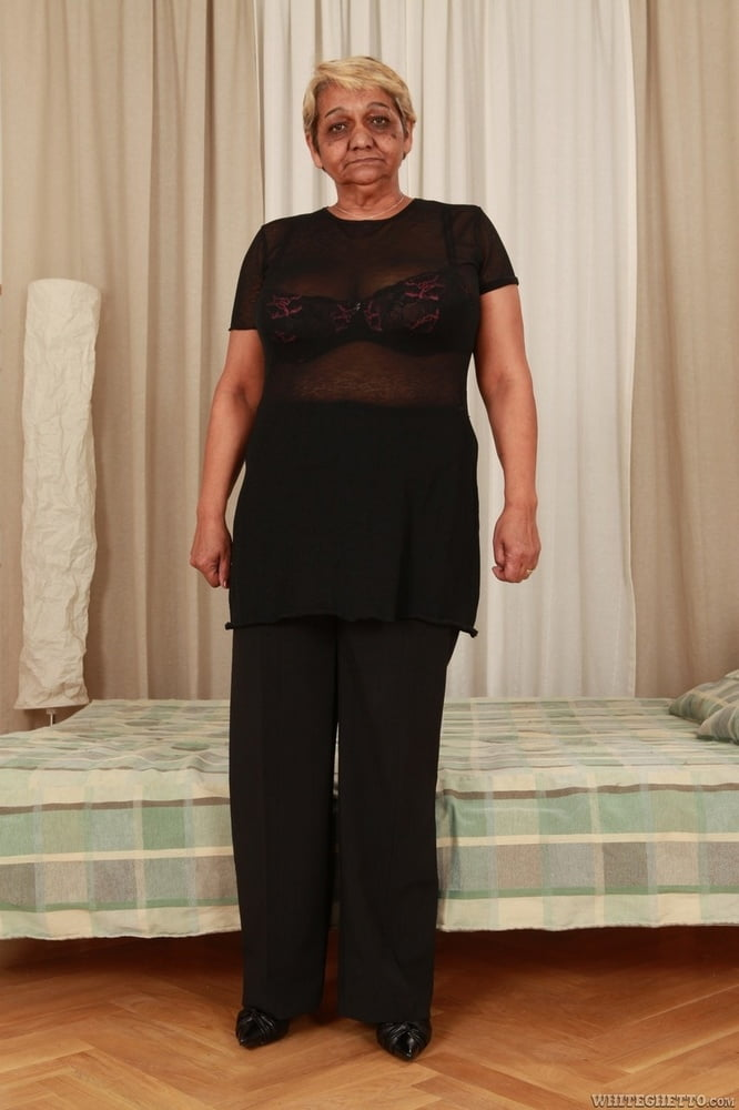 Granny beautiful tits