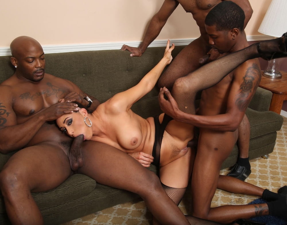 Gang bang white girl black guy, black latina girls