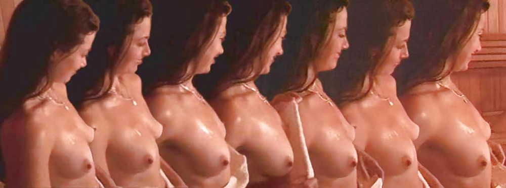 Carey lowell nude side boob and very hot