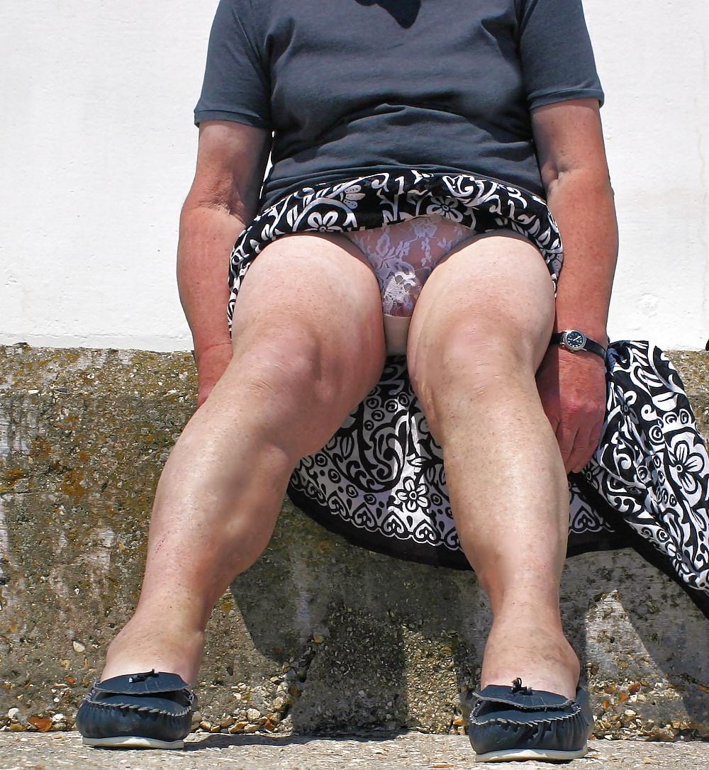 Granny upskirt panties, girl auctions off virginity