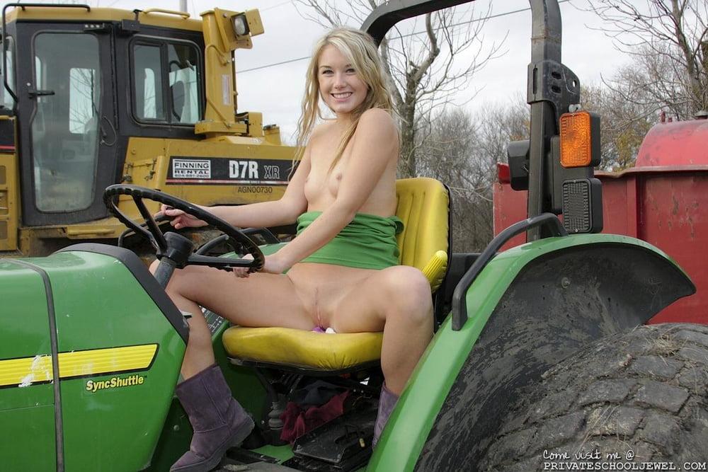 Nude In Farm Girl