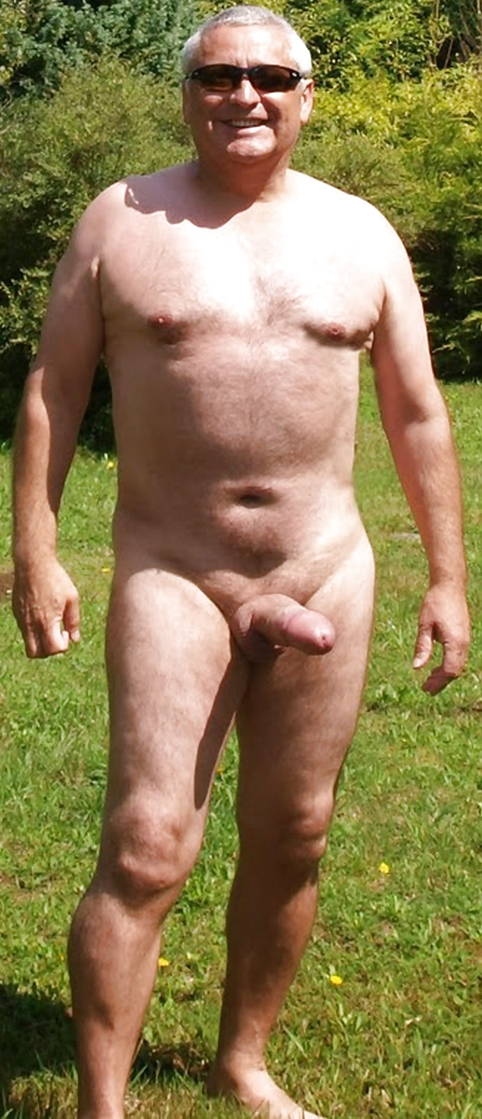 and Mature nude men