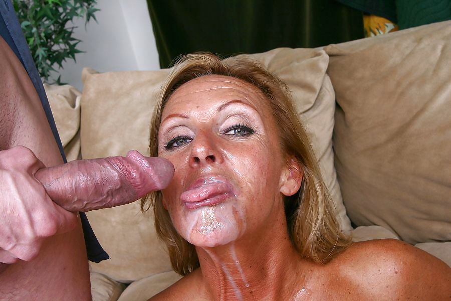 Old Mature Cum Bucket