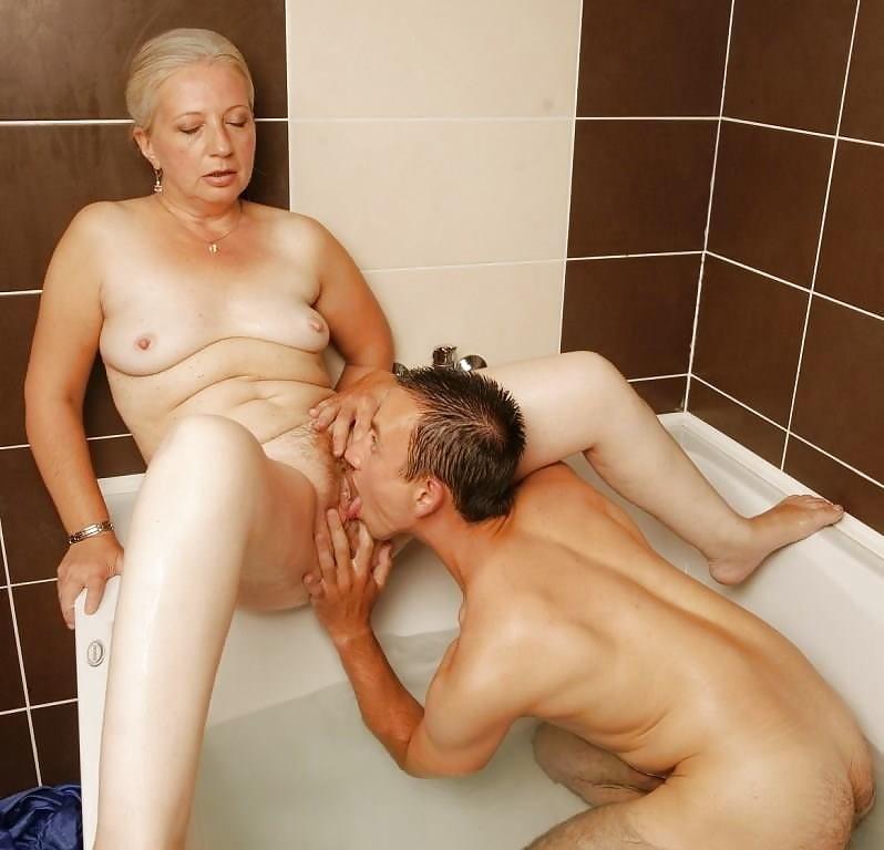 Grandma shower