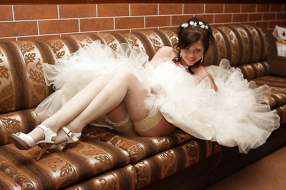Гламурные и развратные невесты, порно ролики с полками