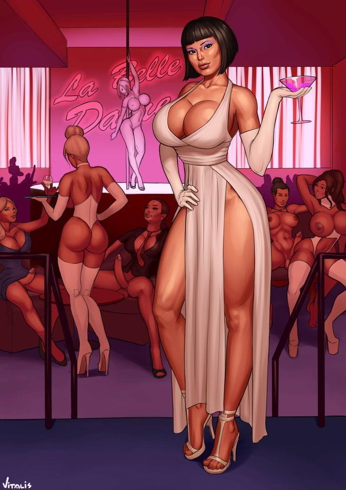 Erotic cartoons shemale