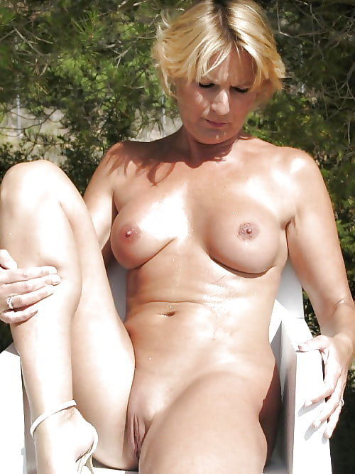Middle aged milf nudist sex