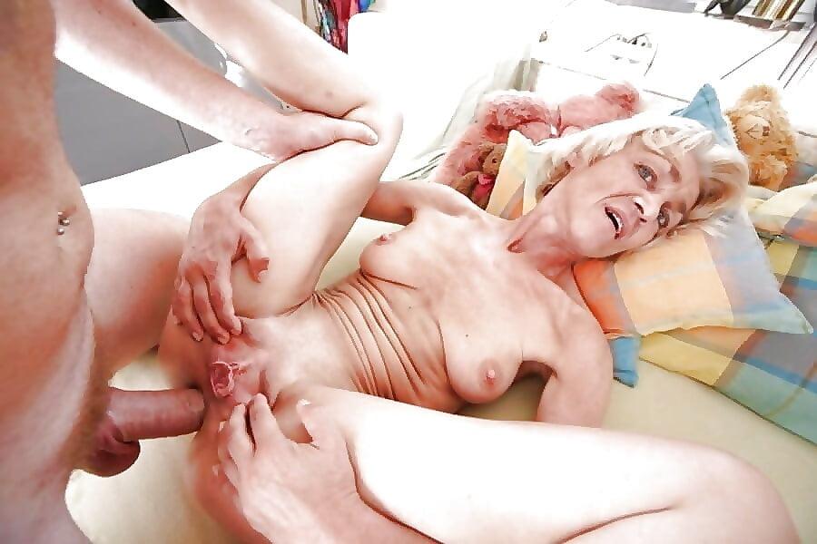 Grandmas first anal sex 13