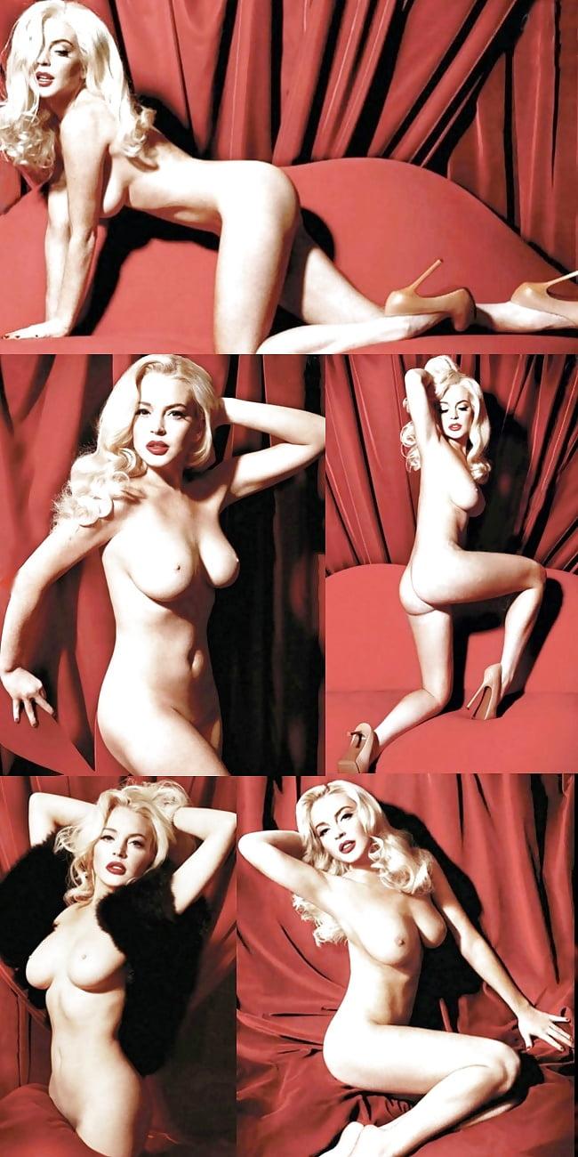Lindsay lohan's nude marilyn monroe photoshoot