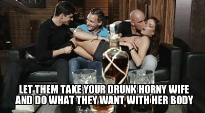 cuckold gangbang captions