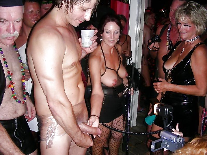 Grandma stripper party