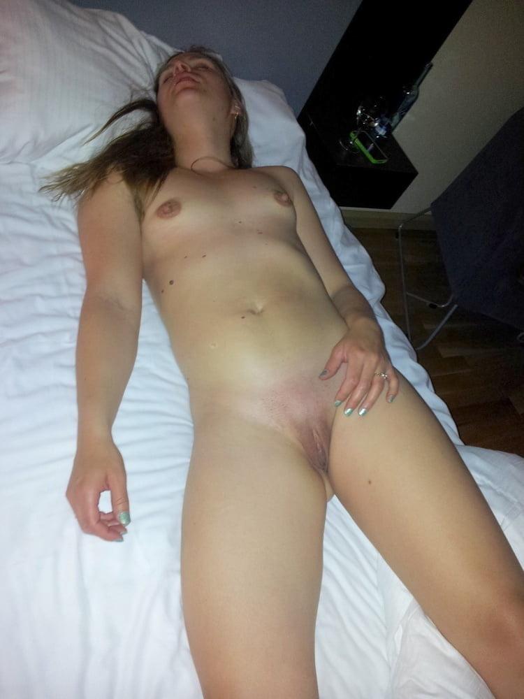 Drunk girls stripped naked