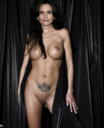 Celeb Courtney Cox Fake Naked Picture Pic