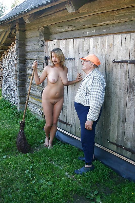 Деревенские голые бабы и мужики, большие сиськи групповуха анал