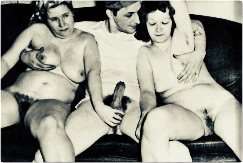Vintage mother son naked — 3
