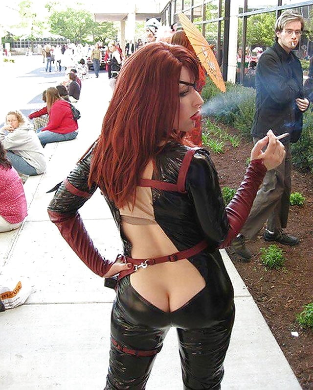 And buck sexy cosplay girls public the