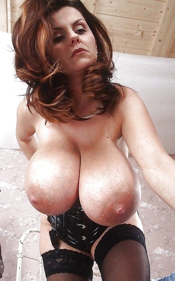black-corset-with-huge-tits