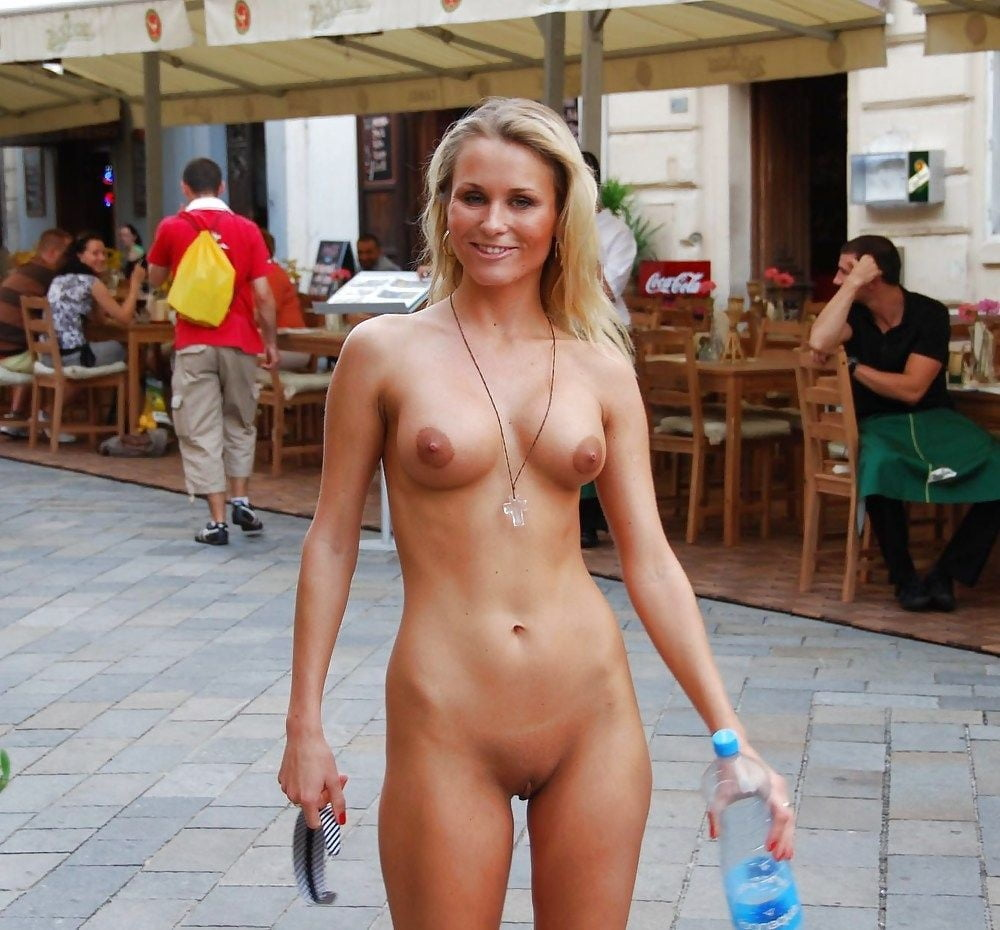 Naked forced public sex
