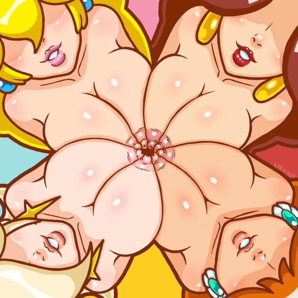Peach rosalina hentai abuse