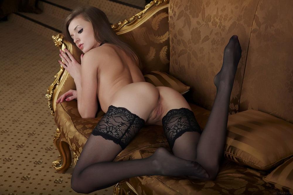 Alisa Angel Nude Stockings TubeGals 1