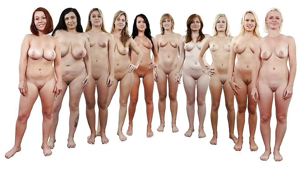 Fully nude women with women