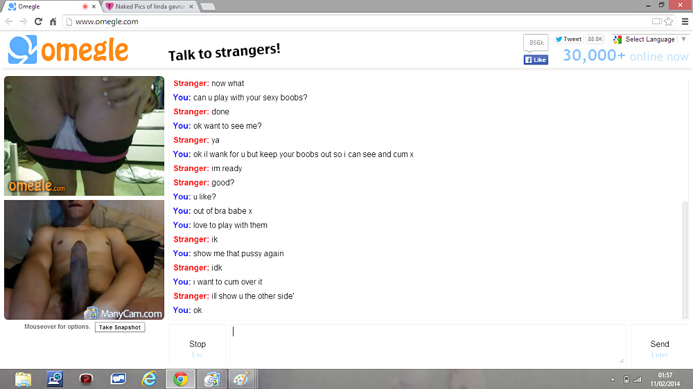 Wow Ass On Omegle Chat, Stickam