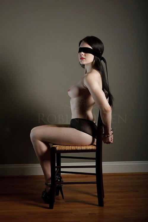 Girls in bondage chair — img 12
