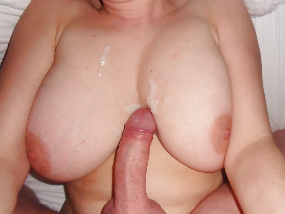 She Took My Dick And Made Me Cum On Her Tits