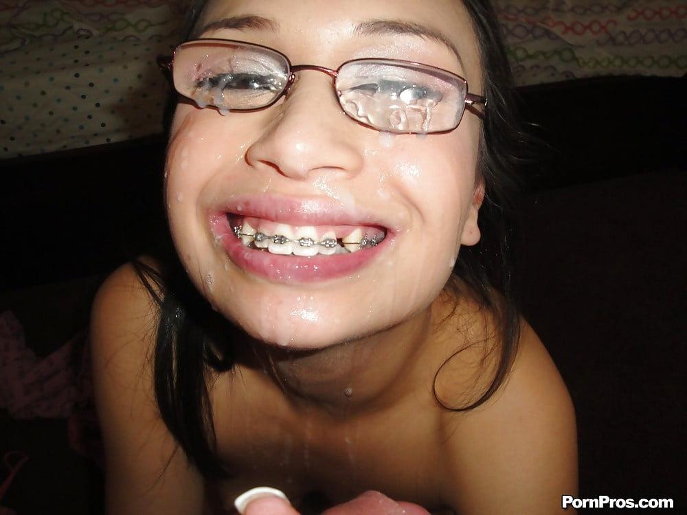 Naked naked arab girl facial braces, nude ginger hairy