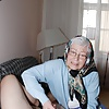 Granny and mature with dildo
