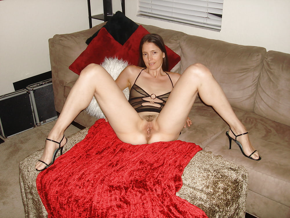 Wives spreading legs nude topless