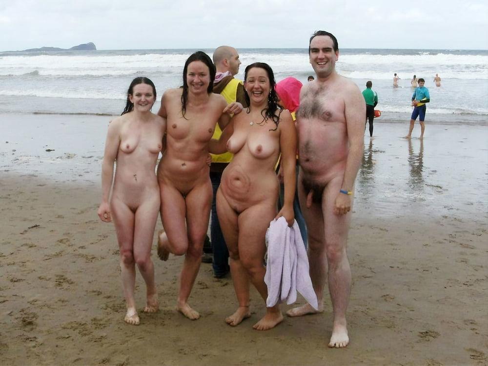 Family nude sax