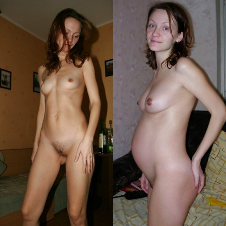 and after pregnancy Boobs before