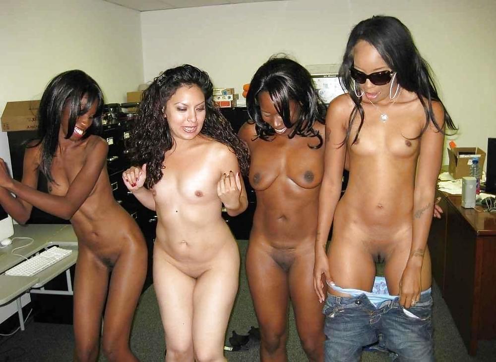 Naked black girl body