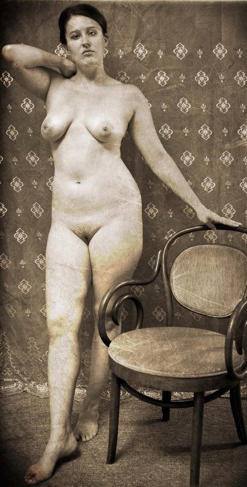 Vintage old women naked