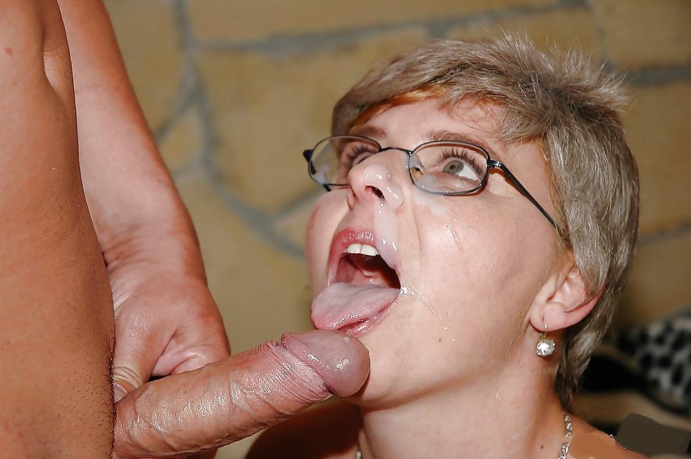 Granny lynne gets face fucked by my bbc until i cum porn photo