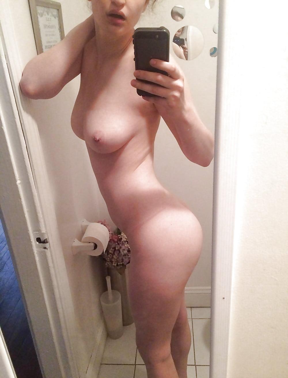 Naked selfshot pants unzipped — 11
