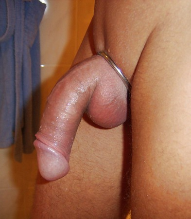 Shaved male dick