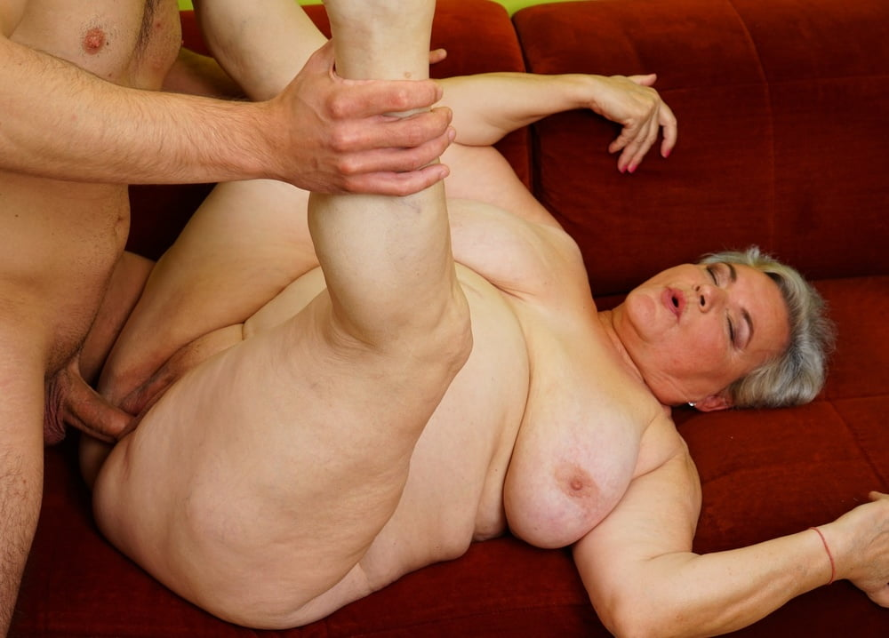 Playful Bbw Granny Norma Double Teamed 1