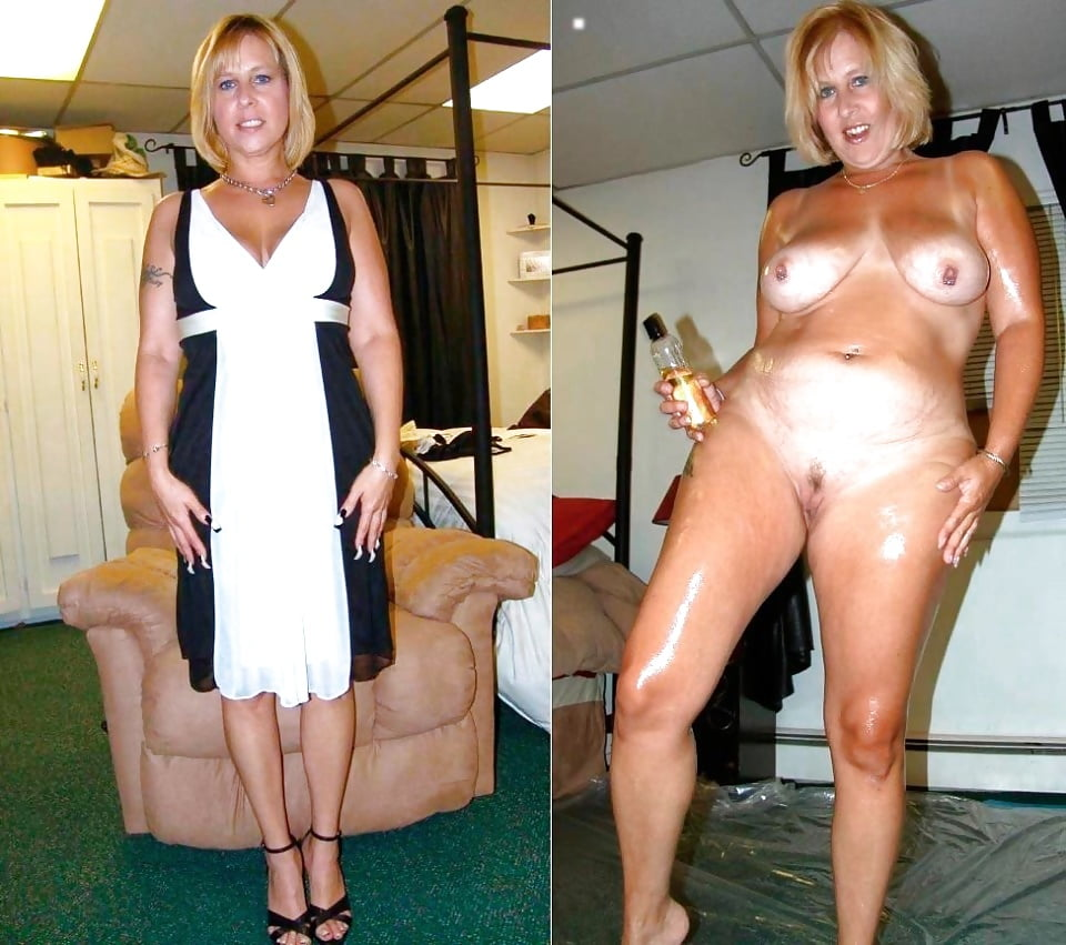 Beautiful mature women clothed nude — pic 1